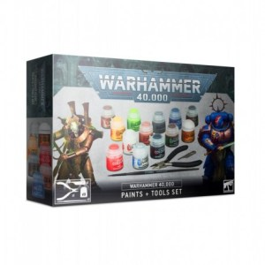 Warhammer 40000 Set Peinture + Outils (Paints + Tools Set) 60-12