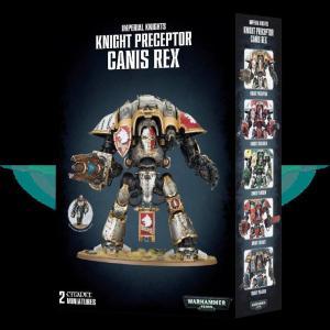Knight Preceptor Canis Rex 54-15