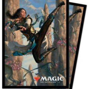 Magic the Gathering Ultra Pro Sleeves Ikoria Narset of the Ancient Way Standard (100)