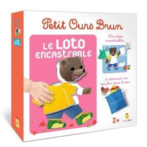Petit Ours Brun – Loto encastrable