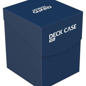 Ultimate Guard boîte pour cartes Deck Case 100+ taille standard Bleu