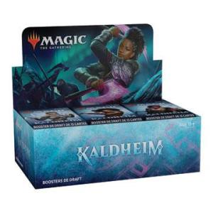 Magic the Gathering Kaldheim présentoir boosters de draft (36) Fr