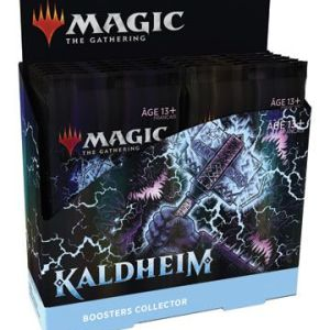 Magic the Gathering Kaldheim présentoir boosters collectors (12) – Français