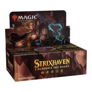 Magic the Gathering Strixhaven : l'Académie des Mages présentoir boosters de draft (36)