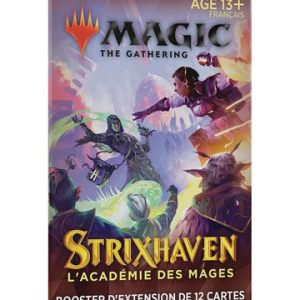 Magic the Gathering Strixhaven : l'Académie des Mages booster d'extension