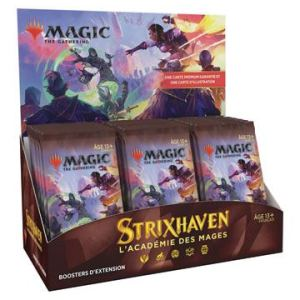 Magic the Gathering Strixhaven : l'Académie des Mages présentoir boosters d'extension (30)