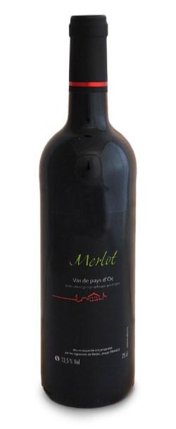 bouteille igp pays d'oc merlot médaille d'or concours des vins foire Avignon 2019