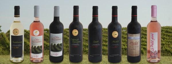 Les vins de la cave coopérative de Barjac