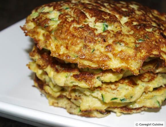 Cornmeal Patties Squash