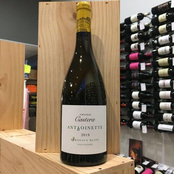 ANTHOINETTE 19 rotated - Anthoinette du Ch. Castéra 2019 - Bordeaux 75cl