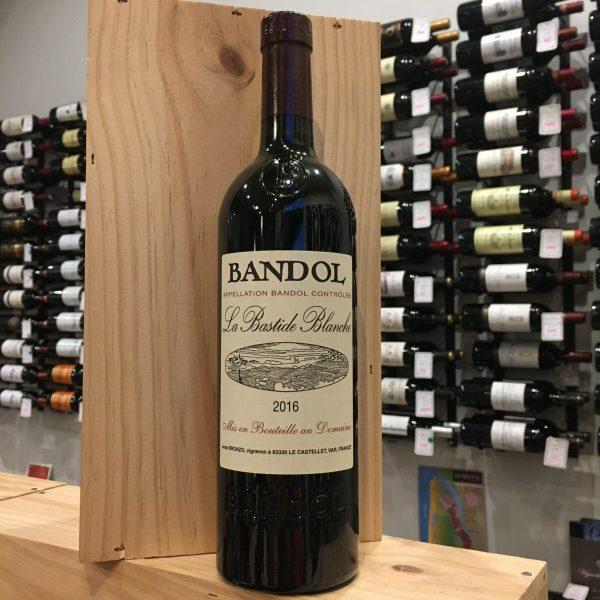 BANDOL R 16 rotated - La Bastide Blanche 2016 - Bandol BIO 75cl