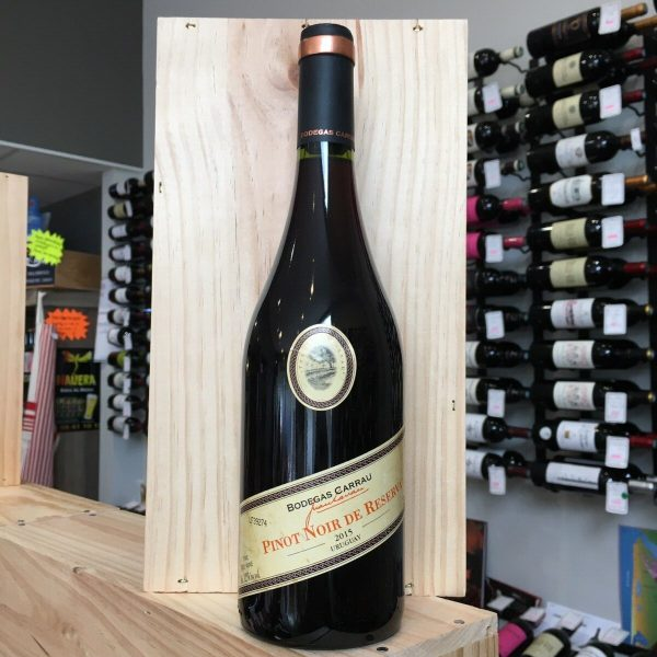 CARAU PN 2015 rotated - Bodegas Carrau Pinot Noir Reserva 2015 - Uruguay 75cl