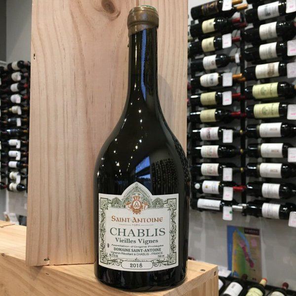 CHABLIS rotated - Dom. Saint-Antoine Vieilles Vignes 2019 - Chablis 75cl
