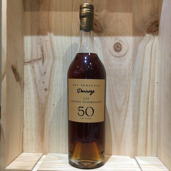 DARROE 50 rotated - Darroze - Les Grands Assemblages 50 ans d'âge - Armagnac 70 cl