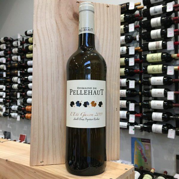 PELLEHAUT BL EG rotated - Pellehaut Eté Gascon 2019 - Côtes de Gascogne 75cl
