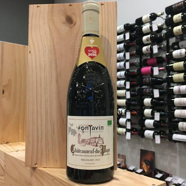 TRILOGIE 2016 rotated - Dom. de Fontavin - Trilogies 2016 - Châteauneuf du Pape BIO 75cl