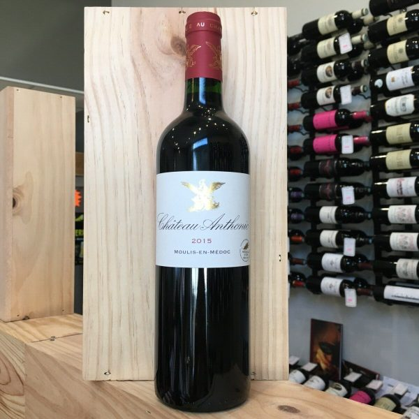 anthonic rotated - Château Anthonic 2015 - Moulis 75cl