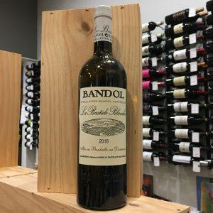 bandol blanc rotated - La Bastide Blanche 2018 - Bandol blanc BIO 75cl