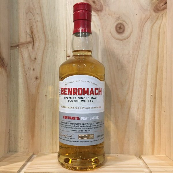 benromach peat smoke rotated - Benromach Peat Smoke - Single Malt Scotch Whisky 70cl