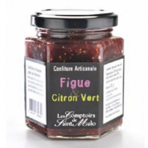 confiture figue - Confiture figue citron vert 220 gr