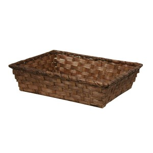 corbeille bambou vieto rectangle pm - Corbeille bambou (35*20*7 cm)