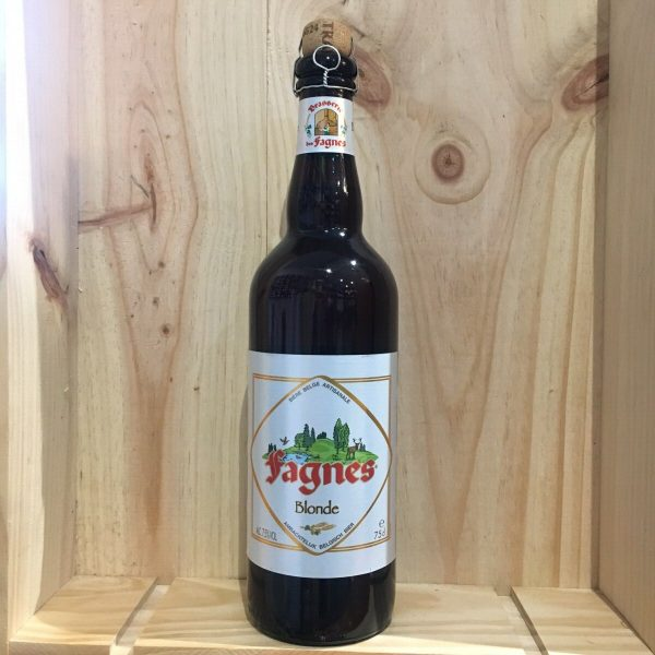 fagens 75cl 1 rotated - Fagnes 75 cl - bière blonde