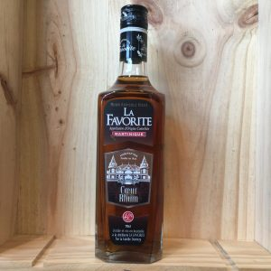 favorite 40 rotated - La Favorite Coeur de Rhum 70 cl - rhum agricole Martinique