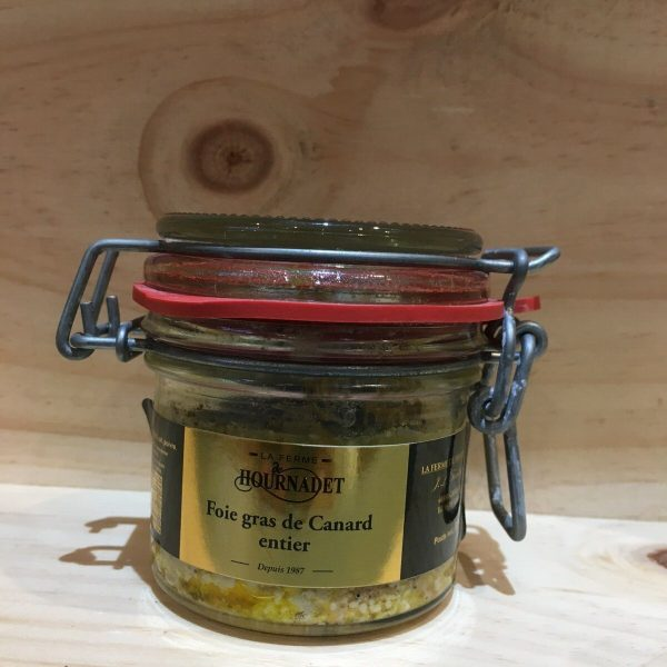 foie 80 rotated - Foie gras de canard Hournadet 80 gr