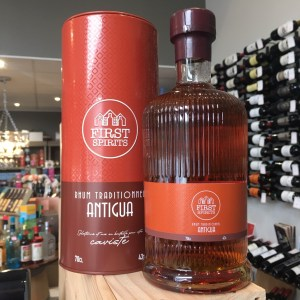 fs antigua - First Spirits - rhum Antigua 70 cl