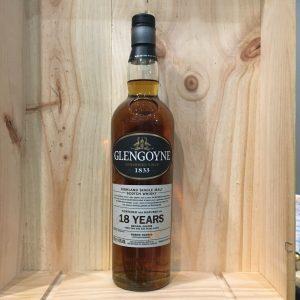 glengoyne 18 rotated - Glengoyne 18 ans 70cl - Single Malt Scotch Whisky
