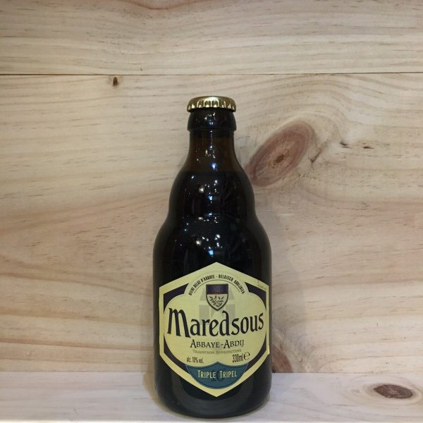 maredsous 10 1 rotated - Maredsous 10 33 cl - bière blonde