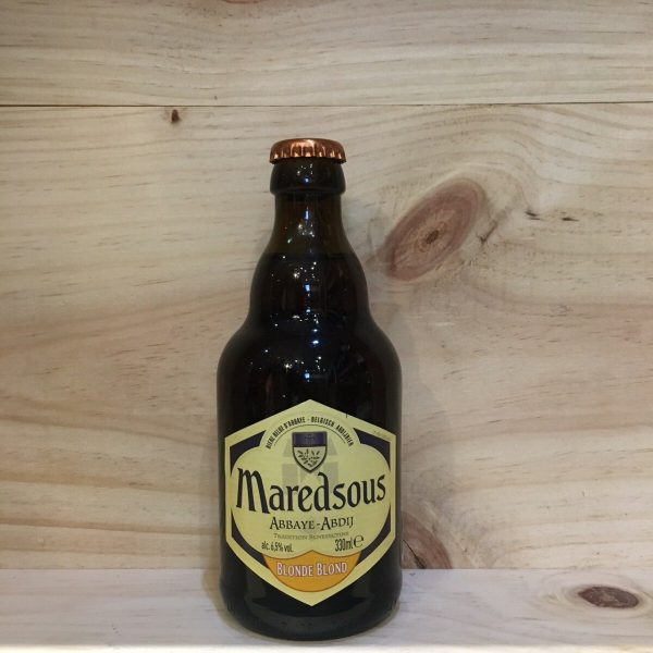maredsous 6 4 rotated - Maredsous 6 33 cl - bière blonde
