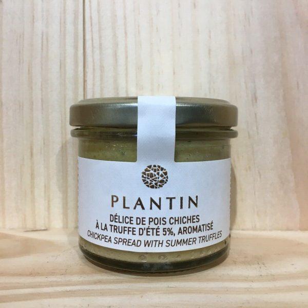 plantin pois rotated - Délice de pois chiches à la truffe d'été Plantin - 100 gr