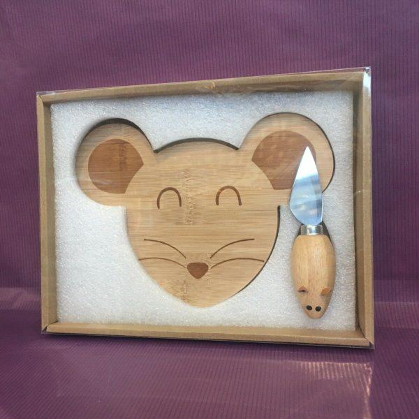 plateau souris rotated - Mini plateau à fromage fantaisie