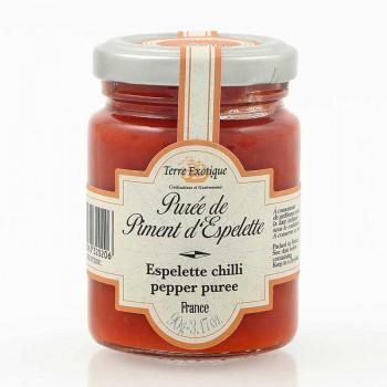 puree piment - Purée de piment d'Espelette 90 gr