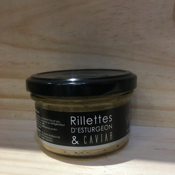 rill est caviar rotated - Sturia rillettes d'esturgeon au caviar 90 gr