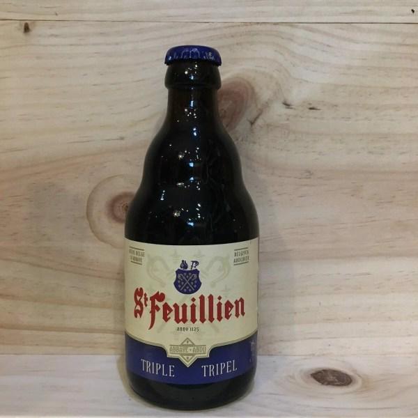 st feuillien triple 1 rotated - St Feuillien triple 33 cl - bière blonde