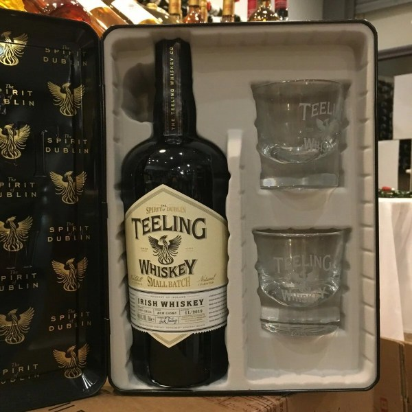 teeling coffret rotated - Teeling Small Batch 70 cl coffret avec 2 verres - Blended Irish Whiskey