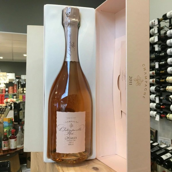 intemporelle rose rotated - Mailly Intemporelle rosé 2011 brut - Champagne 75cl