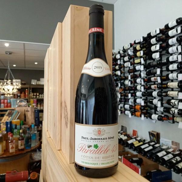 PARALLELE RGE - Paul Jaboulet Aîné - Parallèle 45 rouge - Côtes du Rhône 75 cl BIO