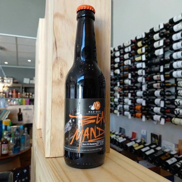 black Manda rotated - Mad'Occ - Black Manda 33 cl - bière noire IPA