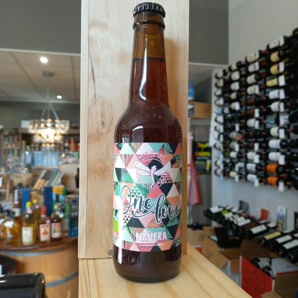 one love rotated - One Love 33 cl - Nauera - bière blonde fruitée BIO