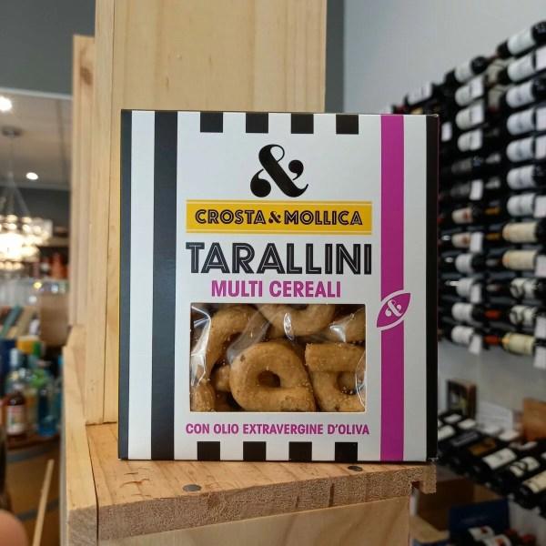 Tarallini rotated - Tarallini multi cereali Crosta & Mollica 170 gr