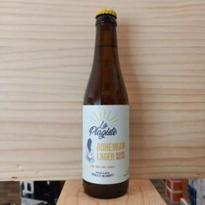 bohemian si 2 - Bohemian Lager 33 cl - La Plagiste - bière blonde
