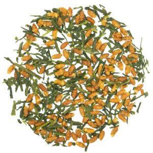 cave le petit grain thé vert alveus vente détail Genmaicha Kokoro