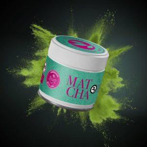 Matcha aromatisé super green lemon Le Petit Grain Rieumes Boutique en Ligne