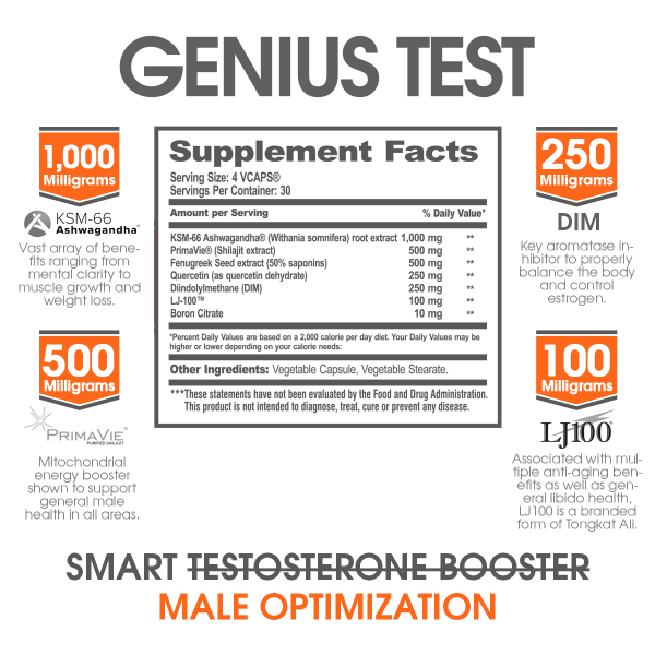 The Genius Brand GENIUS TEST Multi Purpose Test Booster
