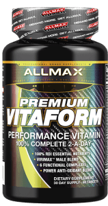 Allmax - Premium VITAFORM - Performance Vitamin 2-A-Day Multi for Men