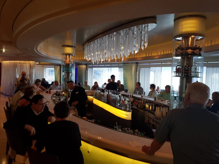 Celebrity Silhouette martini