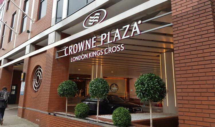 Crowne Plaza hotel Kings Cross, London review